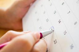 Suggerimenti per calcolare il ciclo mestruale